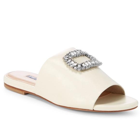 b345499d629f Sorbet Crystal Jewel Embellished Slide Sandal